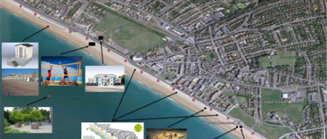 Seafront plans diagram