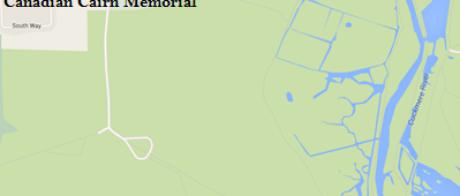 Cuckmere Valley War Memorial Map