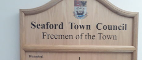 Freeman of the Town Name Board