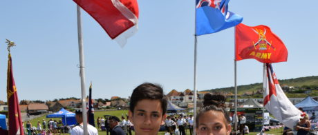 Young and Deputy Young Mayor at Armed Forces Day