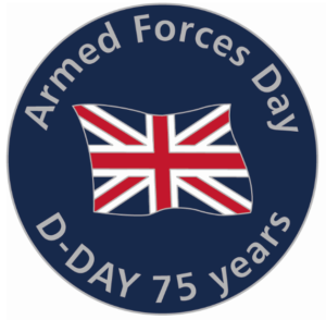 Armed Forces Day 75th D-Day pin