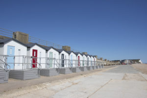 Photo of Bonningstedt Beach Huts looking towards Seaford Head