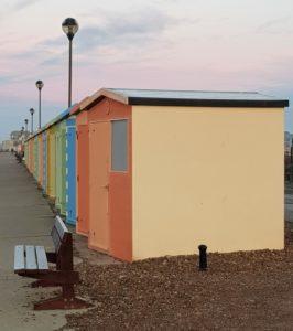 Photograph of Martello Beach Huts