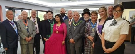 Seaford Town Council Mayor with Dignitaries