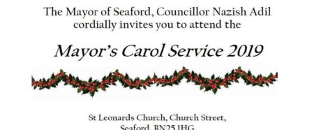 Mayor's carol service invite