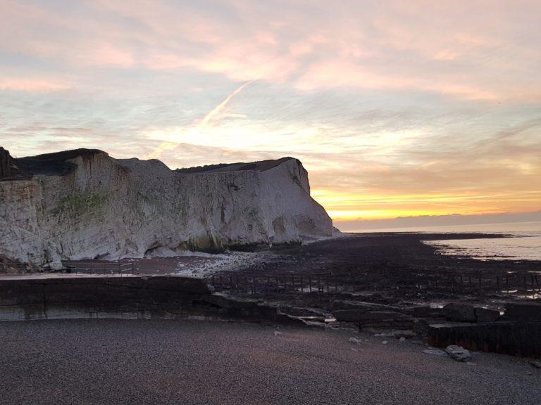 Icey cliffs
