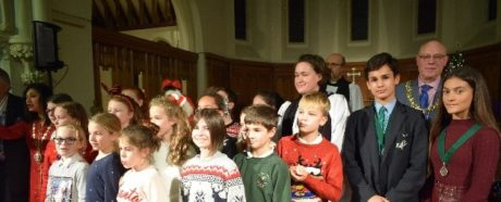 Mayor's Carol Service, Seaford, St Leonards Church