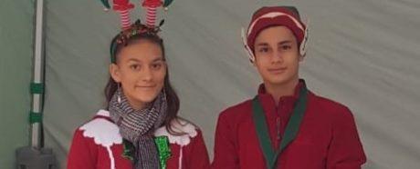 Seaford young Mayors at Christmas Magic