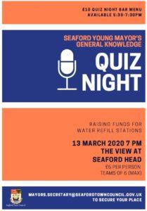 Young Mayor's Quiz Night 13.3.2020