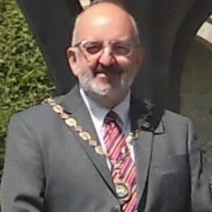 A photo of the Mayor of Seaford 2020-2021 Cllr Rodney Reed