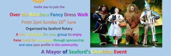 Over The Rainbow Walk Seaford Rotary Club