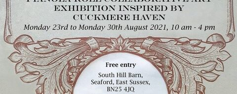 23/08/21 'Songs of the River' art exhibition, South Hill Barn 23-30th August