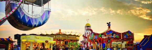 29th July Cole's Family Fun Fair until 8th August Martello Field East
